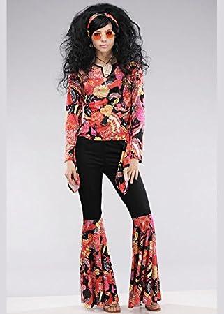 Delights Disfraz de Willow Black Willow para Mujer de los años 70 ...