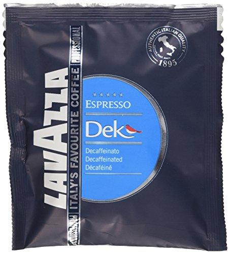 Decaffeinated Espresso Pods (Lavazza Dek Decaf Espresso Pods 18 Box)