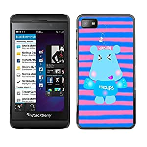 Dragon Case - FOR Blackberry Z10 - keep smile everyday - Caja protectora de pl??stico duro de la cubierta Dise?¡Ào Slim Fit