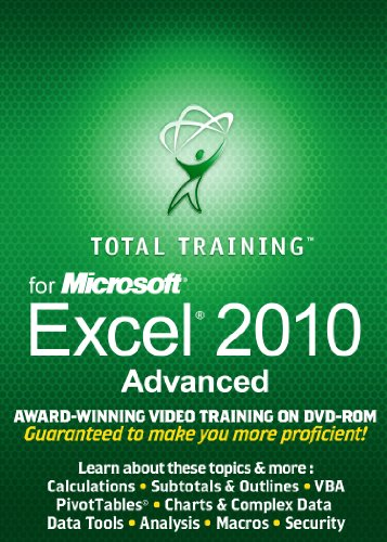 Total Training for Microsoft Excel 2010: Advanced  [Download]