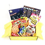 Mystery care package-Asian Snack Box, Cookies Chips & Candies, Variety Pack, Korean snacks,Japanese snacks,sweet & salty & spicy snacks for meeting,party,office,Family, School and College Variety Pack