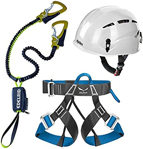 Edelrid Via Ferrata Kit de Cable 4,3 + Universal Alpidex escalada ...
