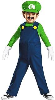 nintendo super mario brothers luigi boys toddler costume medium3t 4t