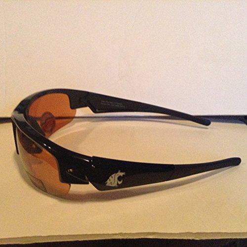 Washington State University Sunglasses w/ bag - by Maxx WSU Cougars - Wsu Sunglasses