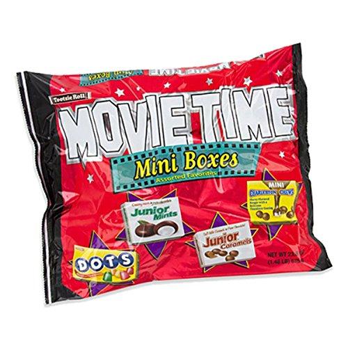 Movie Time Mini Box Assorted Bulk Candy Bag, 23.8 oz