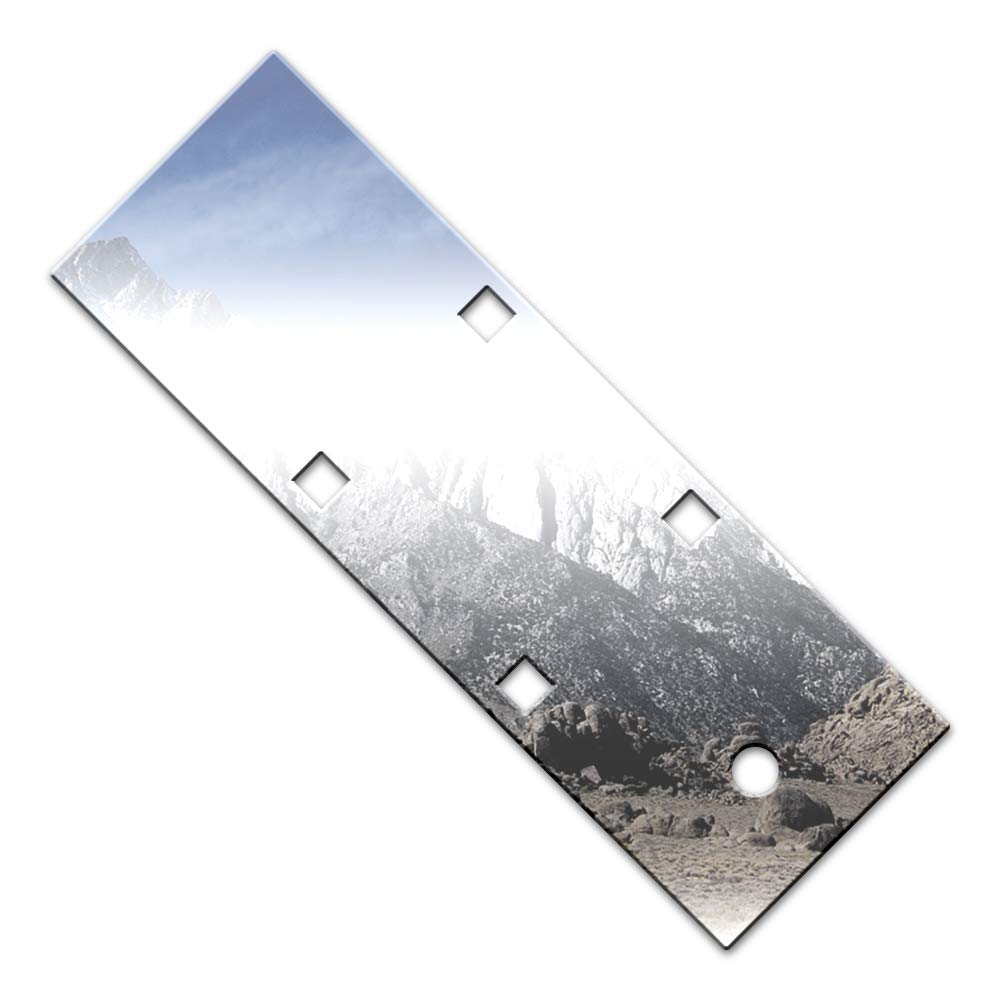 Brighter Design Chrome License Plate Bezel 1 Pc Kit fit for 00-05 Cadillac Deville Limo//Hearse