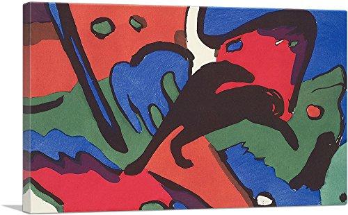 ARTCANVAS The Blue Rider 1912 by Wassily Kandinsky - 26