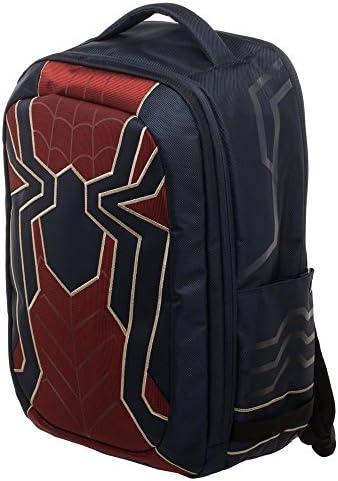 Marvel Spider-Man New Avengers Superhero Costume Tech Laptop Backpack Bag