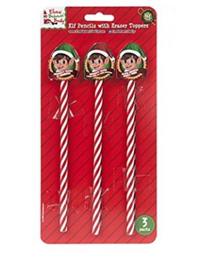 Filler di calze 3 matite di progettazione di Elf con le guarnizioni di gomma