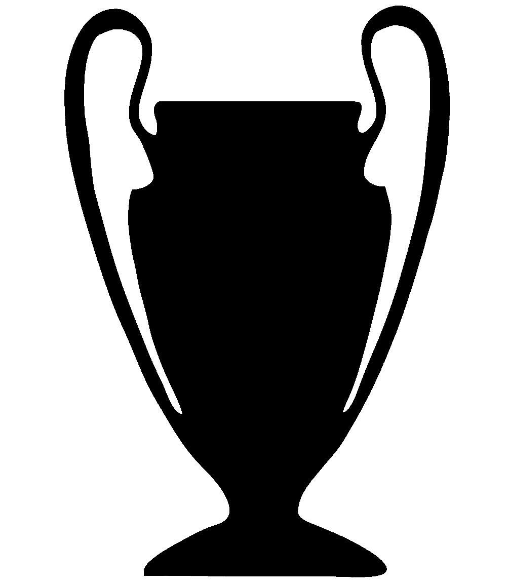 intercoat uefa champions league trophy w buy online in israel at desertcart intercoat uefa champions league trophy wall art sticker decal 3 sizes silver small 600x400cm