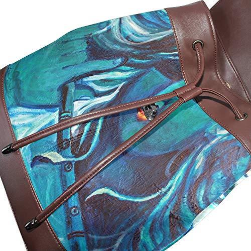 Taille à femme unique pour dos au porté main DragonSwordlinsu Sac multicolore anzqAA