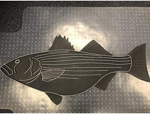 Door Mat Striped Bass Fish for Dock Or Boat