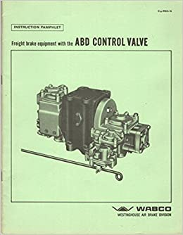 Freight Car Brake Equipment with the ABD Control Valve