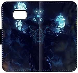 Shadow Reinos D8Q3E Funda Samsung Galaxy Note caja de la carpeta de cuero funda 5 j177S4 Camo cubiertas del teléfono celular