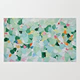 Society6 Tropical Dance (rectangle) Rug 3' x 5'