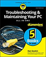Troubleshooting and Maintaining Your PC All-in-One For Dummies, 3rd Edition Front Cover