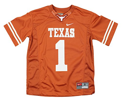 Nike NCAA Little Boys Kids and Toddlers Texas Longhorns #1 Football Jersey