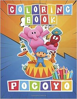 Amazon.com: POCOYO Coloring Book: 48 Exclusive Illustrations ...