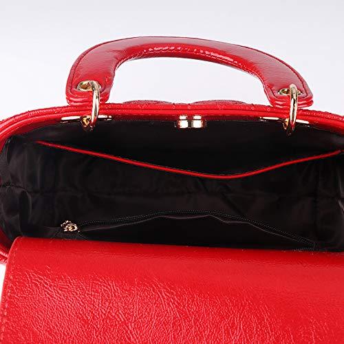 à PU La à Messenger Sac Version Lingge Coréenne Bag Beige Sac Mode De Main Bandoulière qnfHRA
