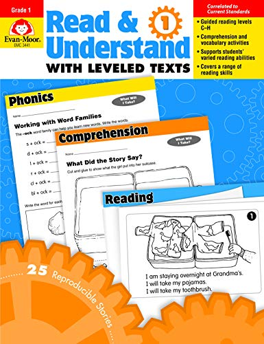 (Read & Understand with Leveled Texts, Grade 1)