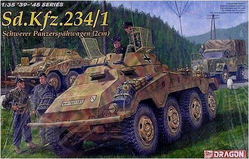 プラッツ 第二次世界大戦 ドイツ軍Sd.kfz.234/1 8輪重装甲偵 プラモデル CH6298 B000G2NGLW