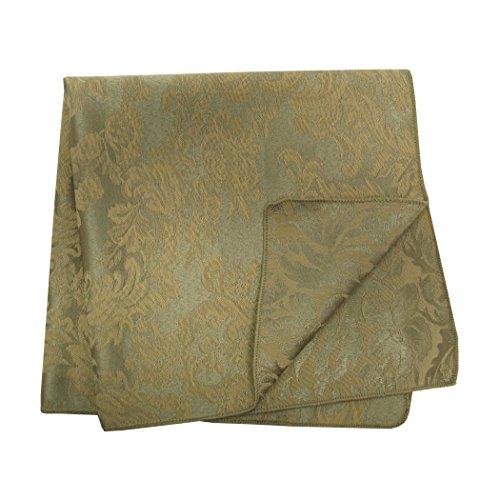 (Ultimate Textile -1 Dozen- Miranda 10 x 10-Inch Damask Cloth Cocktail Napkins Sage)