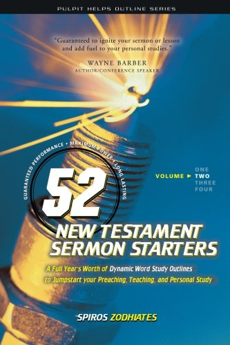 52 New Testament Sermon Starters Book Two (Pulpit Helps Outline Series) (Volume 2) pdf epub