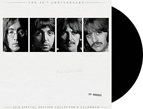 2018 Special Edition The Beatles White Album Calendar (Day Dream)