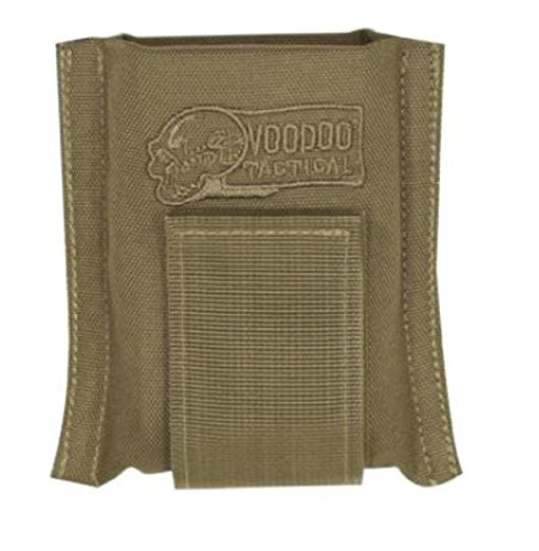 VooDoo Tactical Single M16 30 Round Mag Belt Pouch (Coyote)