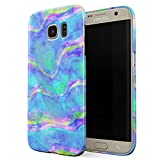Glitbit Mermaid Paua Abalone Sea Shell Haliotis Iris Holographic Iridescent Mother Of Pearl Opal Cotton Candy Thin Design Durable Hard Shell Plastic Protective Case For Samsung Galaxy S7 Edge