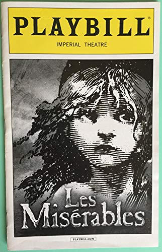 Brand New Playbill from LES MISERABLES at the IMPERIAL THEATRE starring John Owen-Jones Hayden Tee Alison Luff Brennyn Lark Gavin Lee Chris McCarrell music by Claude-Michel Schönberg, lyrics by Herbert Kretzmer