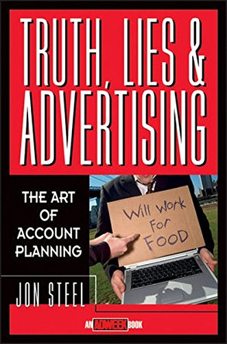 Price comparison product image Truth, Lies, and Advertising: The Art of Account Planning