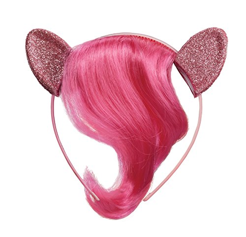 Pinkie Pie Child Movie Headpiece with Hair -