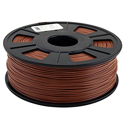 Quantum 3D Brown 1.75 mm ABS PRO 3D Printing Filament (1.0 kg Roll)