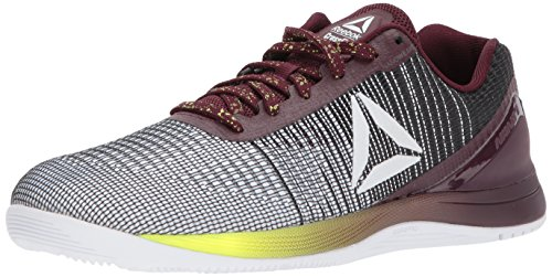 Reebok Men's Crossfit Nano 7 Sneaker, q Neon-White/Black/Solar, 13 M US