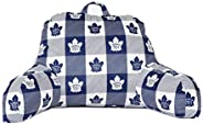 Officially Licensed NHL Bedrest Reading Pillow, Toronto Maple Leafs (91744-PIL-REST-TORO)