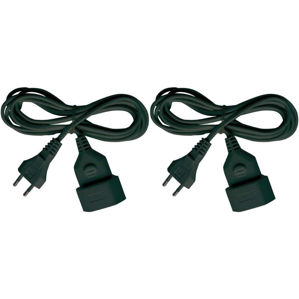 Brennenstuhl 149928 Cable de Plástico 230 V, Negro 3 metros