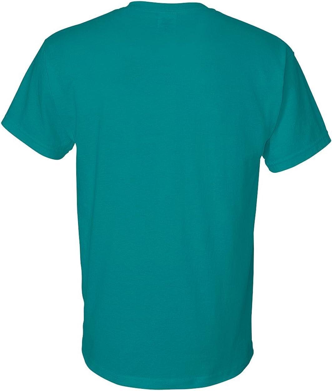 Gildan Adult DryBlend Moisture Wicking T-Shirt ( Pack of 10 ) Jade Dome