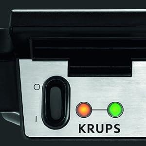 Krups Küche Am Griff | Krups Fdk 251 Waffeleisen Die Kuche Wird Zum Waffelhaus