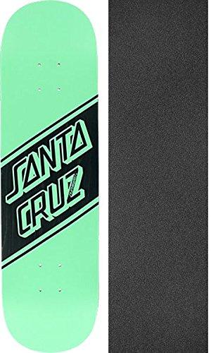 抑圧するアクセスできない管理者Santa CruzスケートボードストリートスケートWide Tipミント/ブラックスケートボードDeck – 8.25
