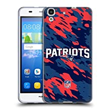 Official NFL Camou New England Patriots Logo Soft Gel Case for Huawei Y6 / Honor 4A