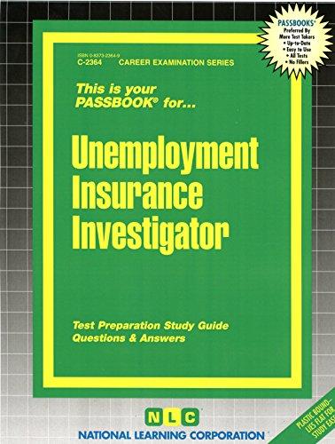 Download Unemployment Insurance Investigator(Passbooks) (Career Examination Passbooks) Pdf