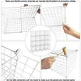 C&AHOME Wire Cube Storage Organizer, Modular 16