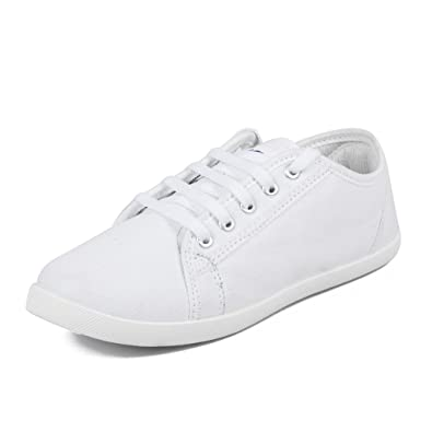 Asian Shoes SPICY 51 White Women's Casual Shoes 10 UK/Indian
