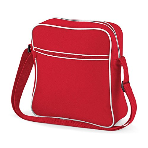 BagBase Flight Retro Bag Retro Bag Classic BagBase Flight Classic Red A4qwnnI7FZ