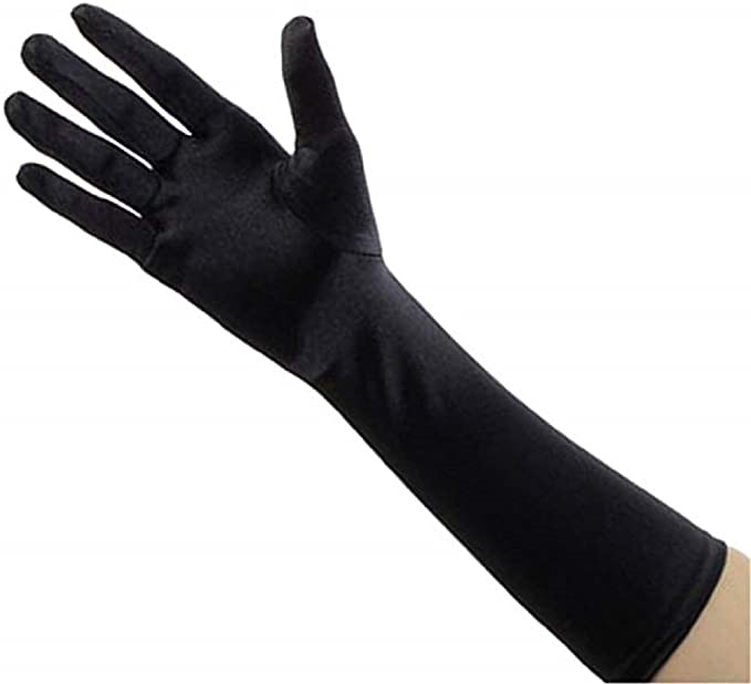 Women/'s Classy Formal Wrist Length Gloves Nylon One Size Fits All