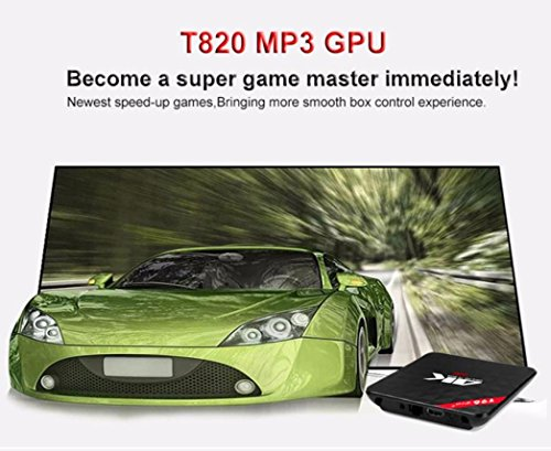 2018 Newest T96 PRO Android 6.0 TV Box 3G+32GB,Aritone Octa-Core 3D/4k/WiFi/HD Smart Media Player (Black) by T96 (Image #2)