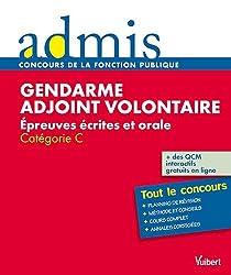 Concours gendarme adjoint volontaire écrit oral catégorie C