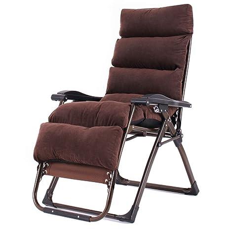 Amazon.com: XUE Silla reclinable plegable de oficina, silla ...