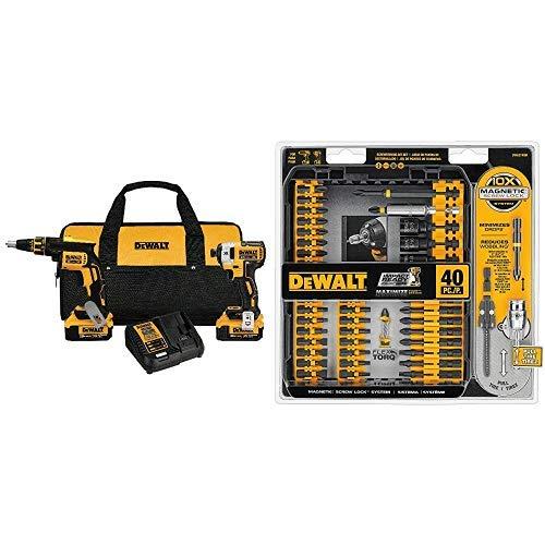 DEWALT DCK267M2 20V MAX XR Drywall Screwgun Impact Driver Kit